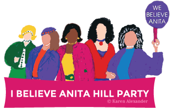 I Believe Anita Hill Party